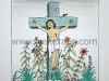 JG-L14-01	 Jesus on a cross