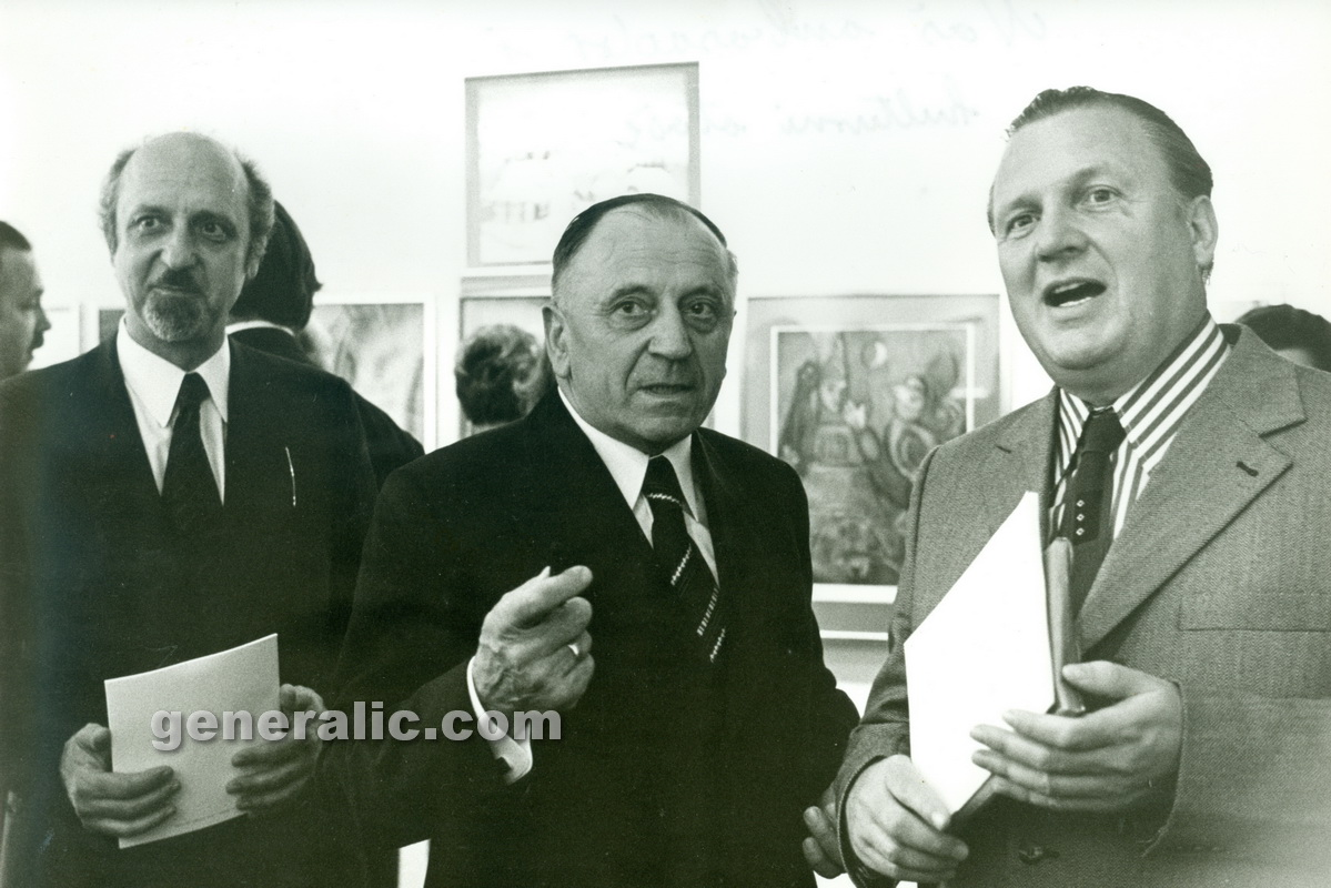 _730516 Ivan Generalic and Anka with our ambassador, Wien 1973 4