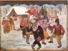 Ivan Generalic, 1936, Gypsy wedding, oil on canvas, 39x54 cm