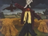Ivan Generalic, 1954, Scarecrow, oil on glass, 53x44 cm 2