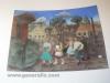 Ivan Generalic, 1958, Fresco in elementary school in Hlebine