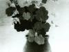 Josip Generalic, 1955, Spring flowers in a vase, oil on glass