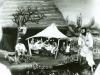 Josip Generalic, 1955, Village fair, oil on glass