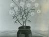 Josip Generalic, 1959, Flowers in a pot, oil on canvas