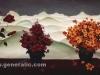 Ivan Generalic, 1960, Three bouquets in winter, oil on glass