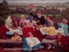 Ivan Generalic, 1962, Wedding party in vineyard, oil on glass