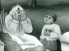 Ivan Generalic, 1963, Mother is crying (detail), oil on glass