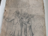 Ivan Generalic, 1967, A bride, drawing, 112x90 cm