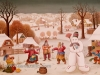 Ivan Generalic, 1969, A snowman, oil on glass
