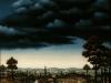 Ivan Generalic, 1969, Landscape, oil on glass