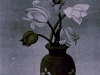 Josip Generalic, 1960, Flowers in a vase, oil on glass