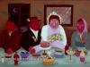 Josip Generalic, 1961, Lon live the newlyweds, oil on glass
