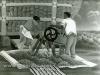 Josip Generalic, 1961, Preparing the corn, oil on glass