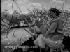Josip Generalic, 1962, Fishing and smoking, oil on canvas