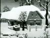 Josip Generalic, 1963, House in winter, oil on glass
