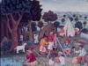 Josip Generalic, 1965, Gypsies, oil on canvas
