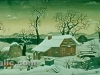 Josip Generalic, 1966, Wide winter, oil on canvas