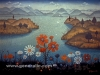 Josip Generalic, 1967, Landscape, oil on canvas