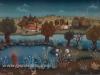 Josip Generalic, 1967, Landscape, oil on glass, 30x41 cm