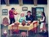 Josip Generalic, 1969, Newlyweds, oil on canvas