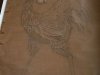 Ivan Generalic, 1972, My Mona Lisa, drawing, 160x120 cm