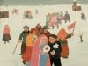 Ivan Generalic, 1973, Wedding, watercolour