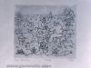 Ivan Generalic, 1979, A party, etching