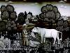 Josip Generalic, 1970, Feeding a cow