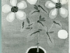 Josip Generalic, 1970, Flowers in a cup, tapestry