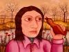 Josip Generalic, 1971, Mirjana, oil on canvas
