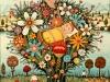 Josip Generalic, 1971, My stork, oil on canvas