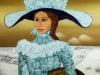 Josip-Generalic-1973-Sophia-Loren-oil-on-glass-150×120-cm