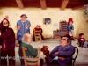 Josip Generalic, 1975, Goran among doctors, oil on glass, 120x180 cm