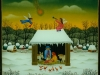 Josip Generalic, 1992, Christmas, oil on glass