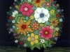 Josip Generalic, 1995, Flowers in the night, oil on glass