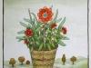 Josip Generalic, 1996, Flowers, watercolour, 28x24 cm