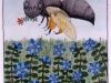 Josip Generalic, 1997, Huge bee, watercolour