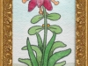 Josip Generalic, 1997, Red flower, watercolour