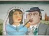 Josip Generalic, 1998, Newlyweds, watercolour, 40x50 cm 31x46 cm