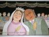 Josip Generalic, 1999, Lovely bride, watercolour, 43x69 cm