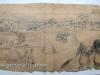 Ivan Generalic, Gathering the hay, drawing, 62x114 cm
