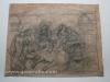 Ivan Generalic, Helping the cow, drawing, 51x64 cm