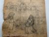 Ivan Generalic, The flood, drawing, 63x65 cm