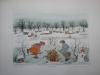 JG-K05-02 Little skaters with snowman