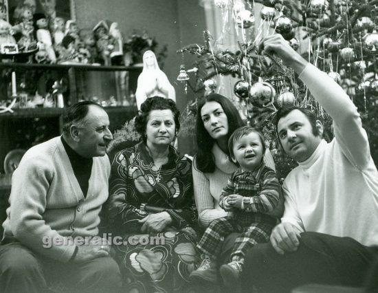 Ivan Generalic, Anka, Mirjana, Goran and Josip