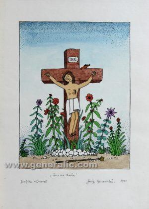Josip Generalic JG-N02-01 Isus na križu Jesus 170,00 EUR