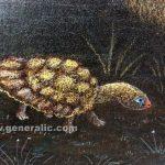 Ivan Generalic, Catfish (Som), 1992, pastel on paper, 50x36 cm detail 03