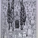 Josip Generalic, 1987, Ringlspil (11) - Stiri nerodi, silkscreen, 48x34 cm