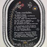 Josip Generalic, 1987, Ringlspil (14) - V cugu zagrebeckom, silkscreen, 48x34 cm